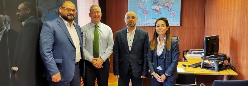 Cooperation meeting with Honorable Director of Camara, Madrid