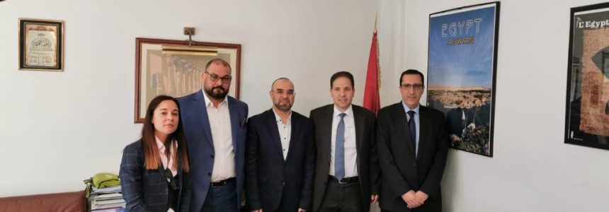 "A visit to Embassy of the Arab Republic of Egypt – ""Economic & Commercial Bureau"" in Madrid"