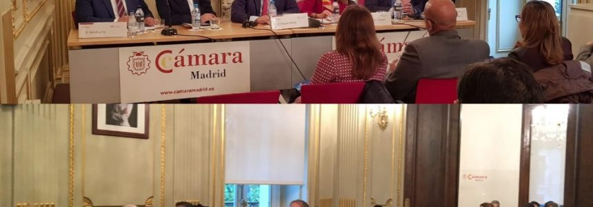 United Advocates in collaboration with The Madrid Chamber organized a conference held in Spain, to talk about the business opportunities in Egypt and the Mega Project